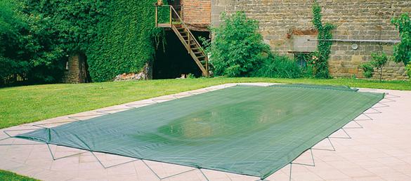 Manta de seguridad para invierno aqua 1500 seguridad de piscinas - Manta de invierno para piscina ...