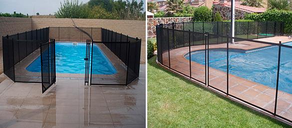 La uni n europea recomienda las vallas de seguridad para for Proteccion de piscinas