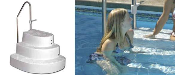 Escalera Tux para piscinas